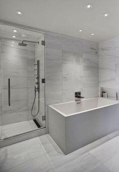 140 Charles Street NYC New York #bathroom #newyork #design