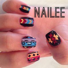 Instagram СМИ naileenails - #ногти #nailee #ногтей #naileenails #nailsforyou #nails2inspire #nailsoftheday #nailsofinstagram #thenailartstory #tribalnails #colornails