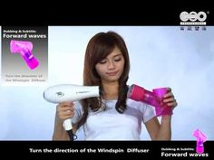 아이캔디 윈드스핀 (Eyecandy Wind Spin Magic Hair Curl Diffuser-Air curler by hair dryer)