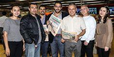 Algunos integrantes del equipo periodístico de Portafolio.