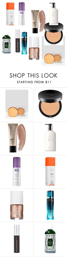 """""""Clinical"""" by efrat-kazoum on Polyvore featuring EX1 Cosmetics, Bare Escentuals, Molton Brown, Urban Decay, Drunk Elephant, Uslu Airlines, Lancôme, Becca and Kypris"""