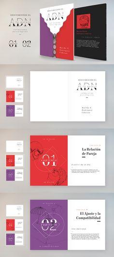 Diseño Editorial para El ADN de las Relaciones de Pareja.
