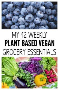 My 12 Weekly Plant Based Vegan Grocery Essentials that I wont live without. All healthy, nourishing and vibrant (naturally gluten-free too)with a couple indulgences, of course. From The Glowing Fridge Healthy Recipes Plant Based Diet Meals, Plant Based Whole Foods, Plant Based Nutrition, Plant Based Eating, Plant Based Foods List, Easy Plant Based Recipes, Plant Based Vegan Diet, Veggie Diet, Food Nutrition