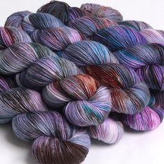 Monet | Hedgehog Fibers Hedgehog Fibres, Spinning Wool, Yarn Inspiration, Yarn Stash, Yarn Bombing, Types Of Yarn, Sock Yarn, Hand Dyed Yarn, Knitting Socks