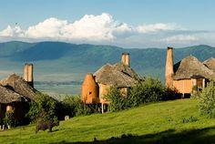 Ngorongoro Crater Lodge en Tanzanie