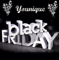 Younique Black Friday!! www.biglashesbycassie.ca