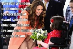Kate Middleton's Words to Live By