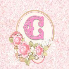 Alfabeto delicado con Rosas...C