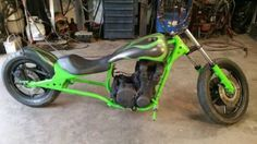 Interesting custom frame for a Kawi. 1978-Kawasaki-Other
