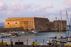 The Venetian fortress of Rocca al Mare (1523–1540), Heraklion, Crete