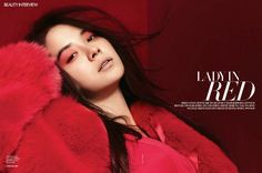 Song Ji Hyo – Harper's Bazaar Magazine