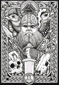 I Love Vikings Tshirt Norse Pagan, Viking Symbols, Norse Mythology, Norse Tattoo, Viking Tattoos, Fantasy Kunst, Fantasy Art, Art Viking, Viking Woman