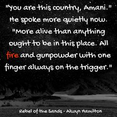 Rebel of the Sands by Alwyn Hamilton Quote Image created by duskangelreads
