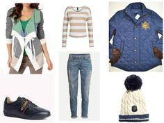 lerros top tom tailor cardigan h&m hat h&m jeans ralph lauren jacket Tommy Hilfiger sneakers