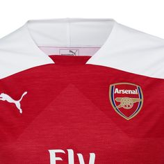 740537c71 Arsenal FC 2018 2019 Home Kit Men s Soccer Football Jersey