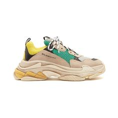 new arrival 6b353 dd39a Balenciaga Triple S low-top trainers (€665) ❤ liked on Polyvore featuring.  HerrskorHerrskorTräningsskorProfil