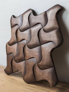 Items similar to Wooden tiles - CHICAGO - Wall wooden decoration- Wooden mosaic - wall - wooden tiles - wooden tiles - wooden panel - designer deco on Etsy Tile Art, Mosaic Tiles, Wall Tiles, Natural Cleaning Solutions, Natural Cleaning Products, 3d Cnc, 3d Wall Panels, Decorative Panels, Wooden Decor
