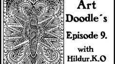 Watch me draw for my coloring book with Hildur.K.O - Episode 9#illustration  #youtube  #doodles  #abstract #timelapse  #artwork #meditation #coloringforadults #coloringpage #stepbystep