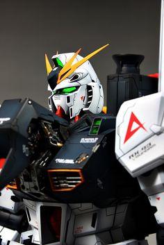 GUNDAM GUY: 1/60 RX-93 Nu Gundam Full Resin Kit - Painted Build