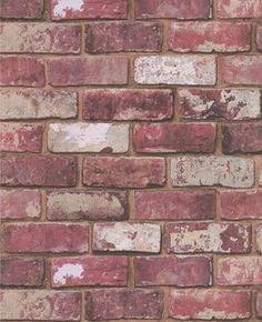 Graham & Brown Red Brick Wallpaper | 2Modern Furniture & Lighting