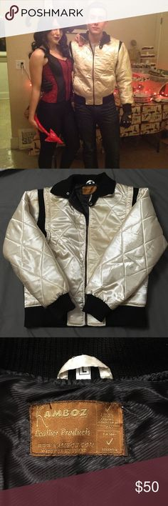 Ryan Gosling replica jacket from Drive Like new men's Drive replica jacket. Perfect for a dapper, badass, easy Halloween costume. Grab this unique jacket for half the price new. We can't guarantee it will get you laid.. But it probably will. Jackets & Coats Bomber & Varsity
