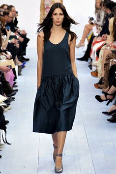 Chloe FW12-13. I really liked the skirt lengths in this collection. And love a dress with pockets.