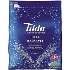 Tilda Basmati rýže 5kg Kimchi, Tilda Rice, Easy Cook Rice, Tofu Frit, Rice Grain, Beautiful Gift Boxes, Easy Cooking, Food Inspiration, Allergies