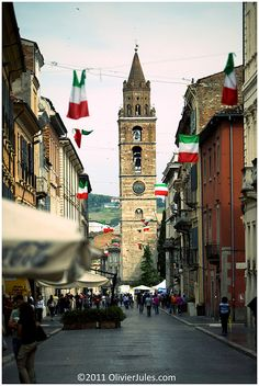 Teramo, very near Campli, the town of my grandparents