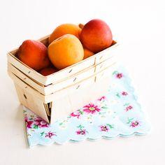 Rectangular Wooden Berry Baskets