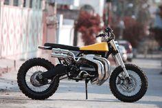 RD350 Scrambler #motorcycles #scrambler #motos | caferacerpasion.com