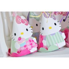 Hello Kitty Party Hats | 8ct for $9.70 in Hello Kitty - Party Themes