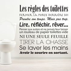 Discover recipes, home ideas, style inspiration and other ideas to try. Bathroom Wallpaper, Home Wallpaper, French Quotes, Design Seeds, Printable Quotes, Organizer, Wall Stickers, Decoration, Positive Quotes