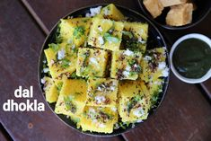 dal dhokla recipe, lentil dhokla recipe, how to make dal dhokla recipe with step by step photo/video. gujarati snack with lentil chana dal and rice. Dhokla Recipe, Jamun Recipe, Indian Veg Recipes, Indian Dessert Recipes, Gujarati Recipes, Pakora Recipes, Paratha Recipes, Spicy Recipes, Curry Recipes