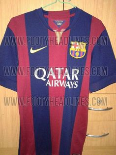 FC BARCELONA 14-15 (2014-15) HOME AND AWAY KITS LEAKED!