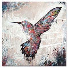 hummingbird canvas | DOC