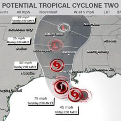 Tropical Storm Barry develops in the Gulf, threatening more epic flooding in Louisiana Louisiana Flooding, Little Rock, Panama City Panama, Tropical