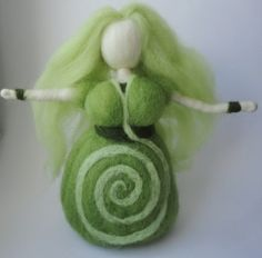 felted Goddess by Elaria, Wild Woman, Wildfrau