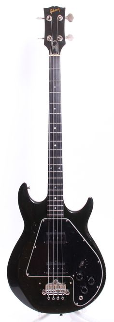 1982 Gibson The Ripper Bass black via Yeahman's Vintage And Used Guitars. Click on the image to see more!