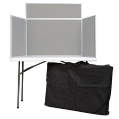Velco Table Top Displays Perfect For Presenting Artwork Photos Grey Loop Nylon With