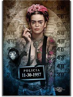 Fotografije na zidu zajednice Dark Disney, Disney Art, Disney Movies, Disney Characters, Cartoon Kunst, Cartoon Art, Joker Kunst, Punk Disney Princesses, Frida Art