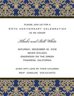 Anniversary Party invitations NEW selections Summer 2020 Anniversary Party Invitations, Anniversary Parties, Rsvp, Summer, Birthday Celebrations, Birthday Invitations, Summer Time