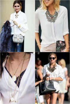 Essenciais do guarda roupa - Camisa Branca