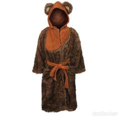 Star Wars Ewok Women's Fleece Bathrobe
