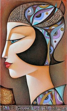 Nostalgie II by Wlad Safronow. (Oil Canvas)