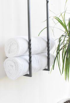 Steel towel storage, towel rack or blanket storage