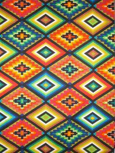 Ojo de Dio Print Pure Cotton Fabric in by fabricsandtrimmings