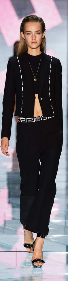 Versace Collection Spring 2015