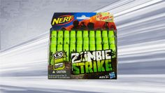 ZOMBIE STRIKE DART REFILL PACK-- Includes 30 Zombie darts with deco.