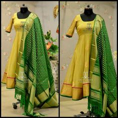 Dressing is a way of Life, the brand Teja sarees designs customised outfits for your day Indian Attire, Indian Ethnic Wear, Indian Dresses, Indian Outfits, Anarkali Dress, Anarkali Suits, Punjabi Dress, Gown Dress, Lehenga Choli