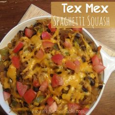Tex+Mex+Spaghetti+Squash